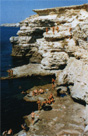Скалистые берега Тарханкута