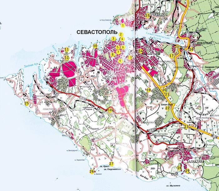 Карта Калиновского Района Винницкой Области